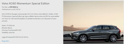 Erbjudanden från Volvo i Bålsta