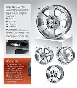 Däck erbjudanden i Peugeot katalogen i Stockholm