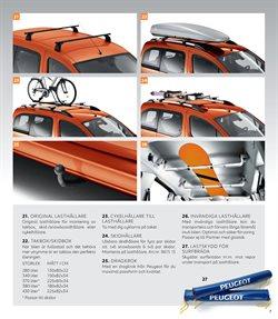 Erbjudanden i kategorin Takbox i Peugeot