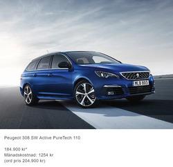 Erbjudanden från Peugeot i Landskrona