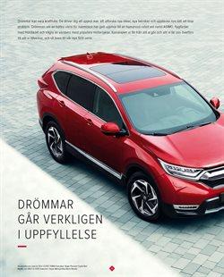 Motorcykel erbjudanden i Honda katalogen i Stockholm
