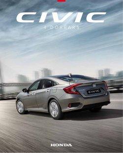 Erbjudanden från Honda i Honda ( Publicerades idag)