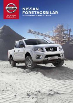 Nissan-katalog ( 2 dagar sedan)