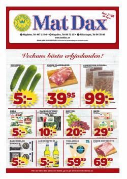 Erbjudanden från Matbutiker i Matdax ( Går ut idag)