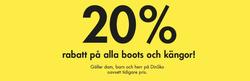 Erbjudanden från Din sko i Stockholm