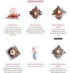 Erbjudanden från Restauranger och Kaféer i Choco Mania ( Publicerades igår)