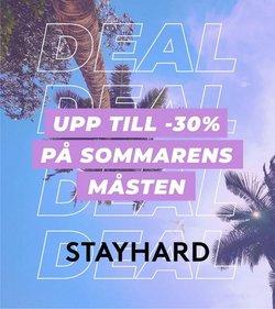 Erbjudanden från Stayhard i Stayhard ( 28 dagar kvar)