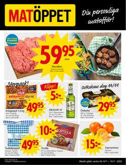 Matöppet-katalog i Stockholm ( Har gått ut )