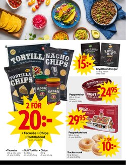 Erbjudanden i kategorin Chips i Matöppet