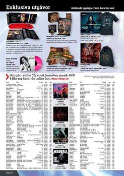 Pilgrim erbjudanden i Sweden Rock katalogen i Stockholm