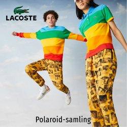 Lacoste-katalog ( Mer än en månad )