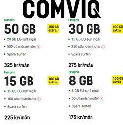 Comviq-katalog ( Går ut idag )