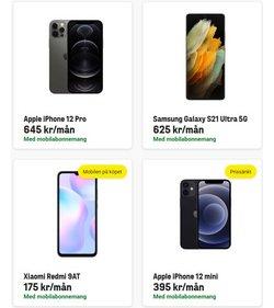Erbjudanden från Samsung i Comviq ( Mer än en månad)
