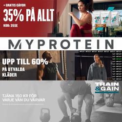 Erbjudanden från Myprotein i Myprotein ( 5 dagar kvar)