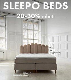 Erbjudanden från Sleepo i Sleepo ( 7 dagar kvar)