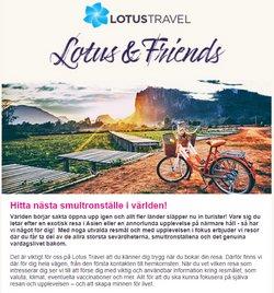 Erbjudanden från Resor i Lotus Travel ( 7 dagar kvar)