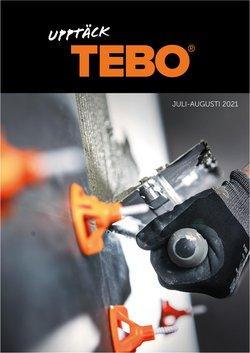 Erbjudanden från TEBO i TEBO ( Mer än en månad)