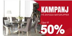 Erbjudanden från Kungsmöbler i Stockholm