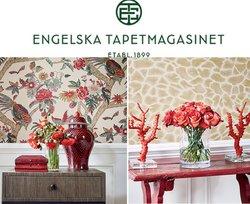 Engelska Tapetmagasinet-katalog ( Publicerades idag)
