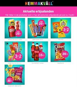 Matbutiker erbjudanden i Hemmakväll katalogen i Varberg ( 3 dagar kvar )