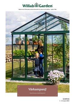 Willab Garden-katalog ( Har gått ut )