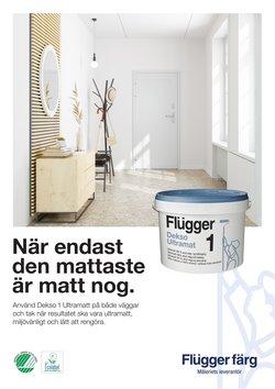 Erbjudanden från Bygg och Trädgård i Flügger Färg ( 9 dagar kvar)