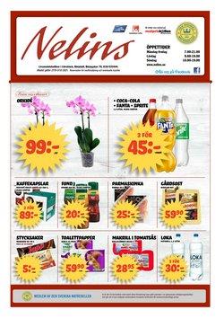 Erbjudanden från Matbutiker i Nelins ( Publicerades idag)