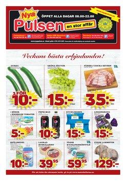 Erbjudanden från Matbutiker i Nya Pulsen ( Publicerades idag)