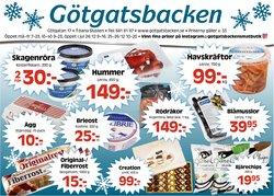 Götgatsbacken-katalog i Stockholm ( Har gått ut )