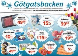 Götgatsbacken-katalog i Stockholm ( Går ut imorgon )