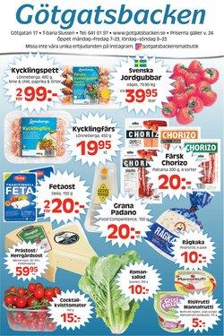 Erbjudanden från Matbutiker i Götgatsbacken ( Går ut imorgon)