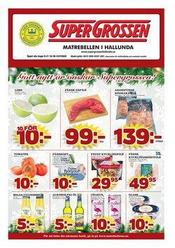 Supergrossen-katalog i Stockholm ( Har gått ut )