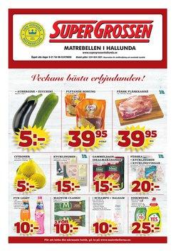 Erbjudanden från Matbutiker i Supergrossen ( 3 dagar kvar )