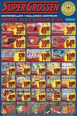 Supergrossen-katalog ( Går ut idag)