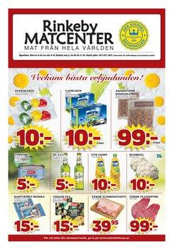 Erbjudanden från Rinkeby Matcenter i Rinkeby Matcenter ( Går ut idag)