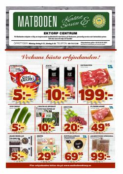 Erbjudanden från Matbutiker i Matboden Ektorp ( Går ut idag)