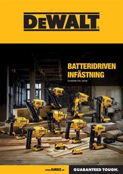 Bygg och Trädgård erbjudanden i Dewalt katalogen i Stockholm ( 28 dagar kvar )