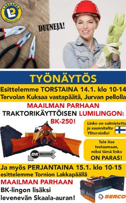 Lakkapää-katalog ( 10 dagar kvar )