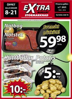 Extra Mjällby Stormarknad-katalog ( Har gått ut )