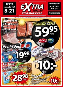 Extra Mjällby Stormarknad-katalog ( 2 dagar sedan )