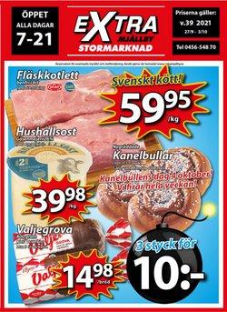 Erbjudanden från Extra Mjällby Stormarknad i Extra Mjällby Stormarknad ( Publicerades idag)