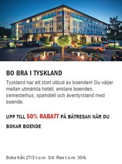 Erbjudanden från Stena Line i Stockholm