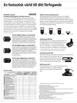Erbjudanden från Nikon i Fotokungen ( 7 dagar kvar)