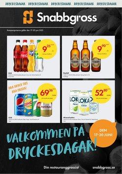 Erbjudanden från Matbutiker i Snabbgross ( Går ut imorgon)