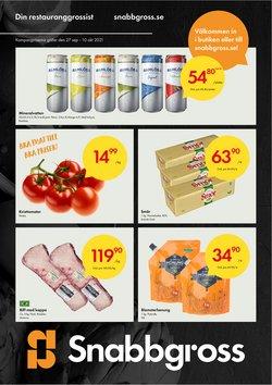 Erbjudanden från Matbutiker i Snabbgross ( Publicerades idag)
