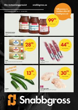 Erbjudanden från Matbutiker i Snabbgross ( Går ut idag)