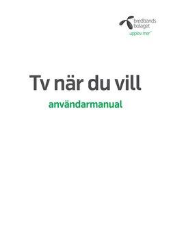 Erbjudanden från Bredbandsbolaget i Stockholm