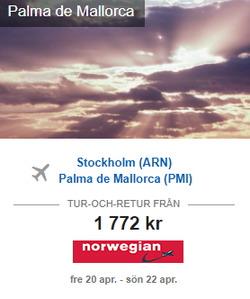 Erbjudanden från Expedia i Stockholm