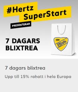 Resor erbjudanden i Hertz katalogen i Helsingborg