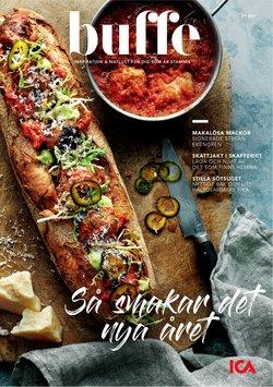 Restauranger och Kaféer erbjudanden i ICA Buffé katalogen i Stockholm ( Publicerades idag )